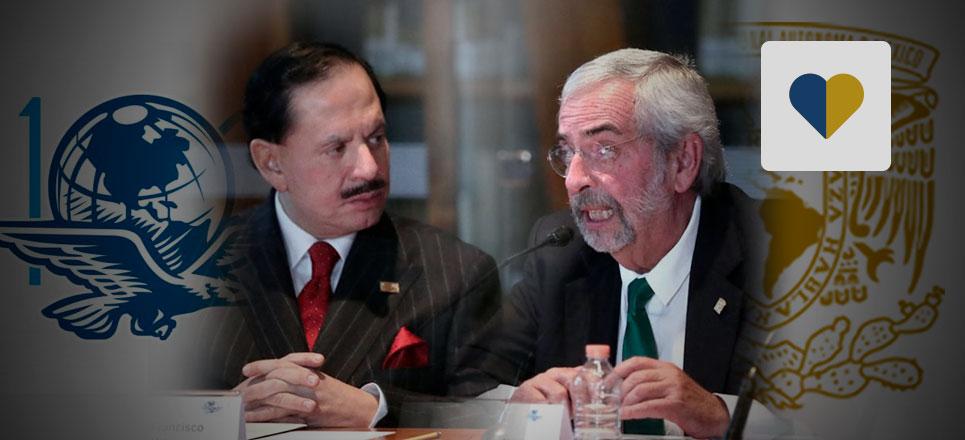 UNAM y El Universal firman convenio de colaboración
