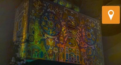 Campus Central de CU, muestra del movimiento artístico surgido en los 50