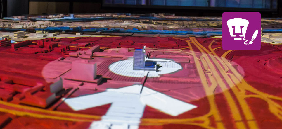 Ciudad Universitaria ya tiene una maqueta interactiva