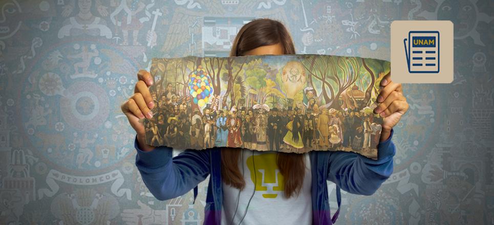 UNAM restaurará mural de Diego Rivera