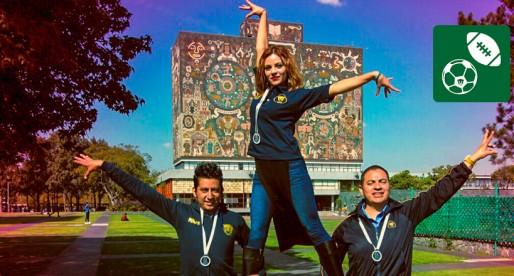 Danza deportiva de la UNAM brilla en Campeonato Nacional