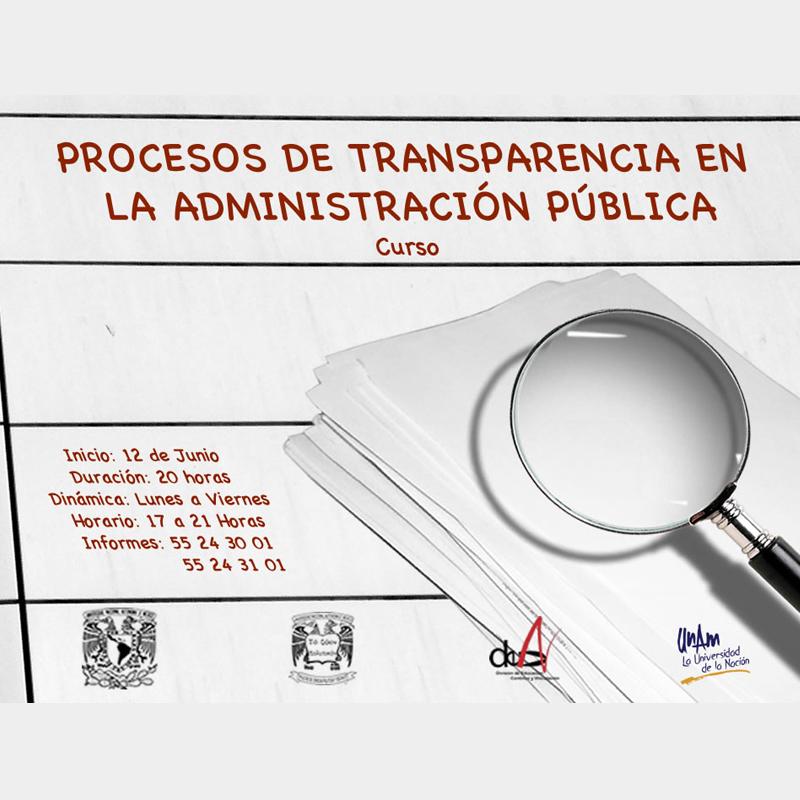 Procesos de transparencia