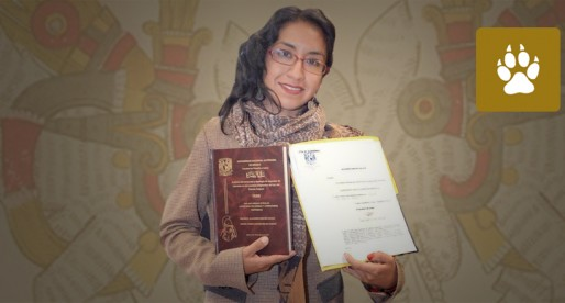 Nahuales, inspiración de universitaria para graduarse con honores