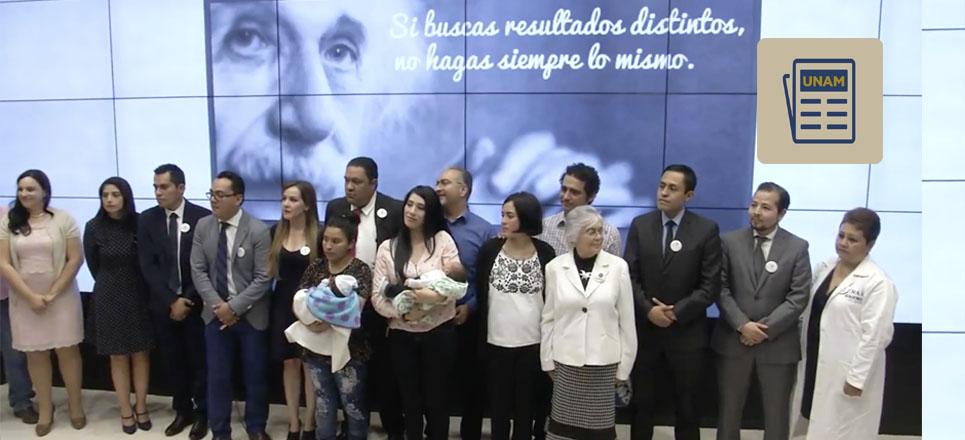 Científicos de la UNAM realizan operación fetal para corregir espina bífida