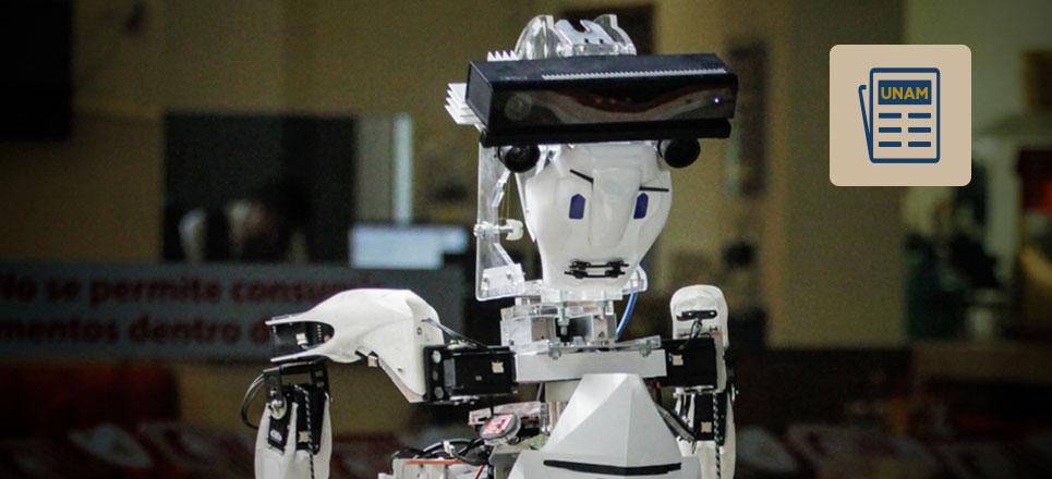 Robot creado por la UNAM participará en RoboCup 2017