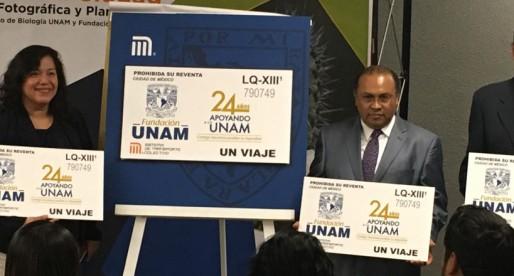 Fundación UNAM tendrá boleto conmemorativo del Metro