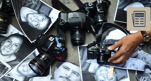 UNAM se solidariza con periodistas