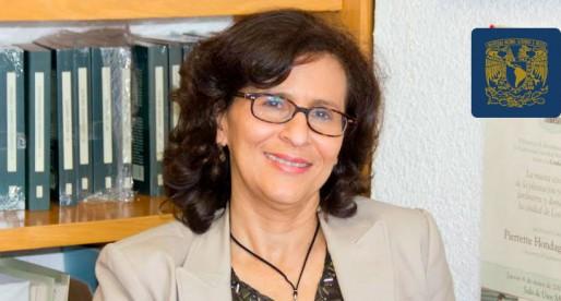 Marina Ariza, una destacada socióloga de la UNAM