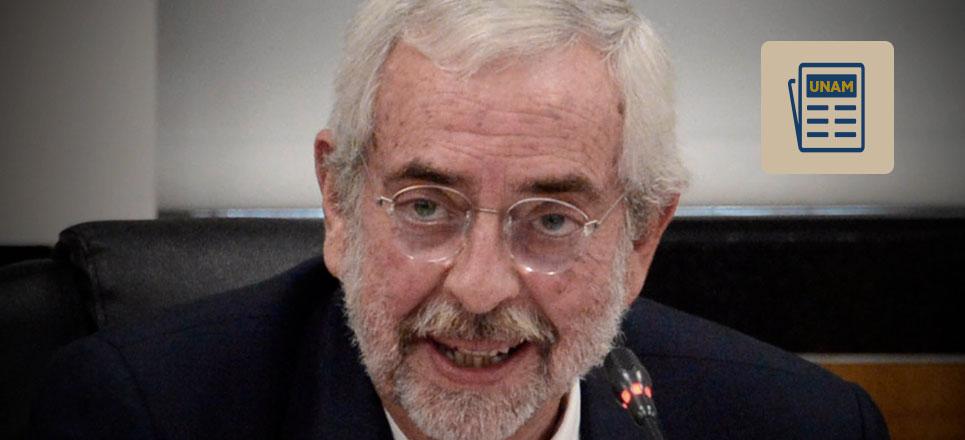 Rector de la UNAM pide no hacer recortes al presupuesto para educación