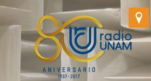 Prende Radio UNAM sus 80 velitas