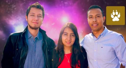 Integrantes de UNAM Space obtienen beca para estudiar en Irlanda