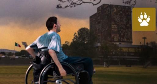 Jóvenes con alguna discapacidad buscan un sitio en la UNAM