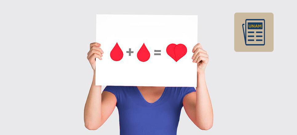Donación altruista de sangre en México, muy baja: UNAM