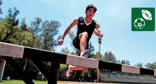 Estudiante de la FES Iztacala gana plata en Atletismo