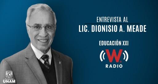 Entrevista al Lic. Dionisio A. Meade en Educación XXI