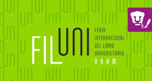 Asiste a la Feria Internacional del Libro Universitario en la UNAM