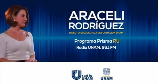 Entrevista a la Lic. Araceli Rodríguez en Prisma RU