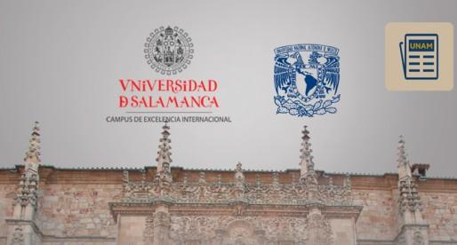 UNAM y la Universidad de Salamanca estaclecieron la doble titulación