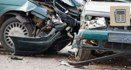 UNAM identifica sitios con mayores accidentes de tránsito
