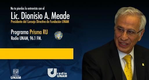 Entrevista al Lic. Dionisio A. Meade en Prisma RU