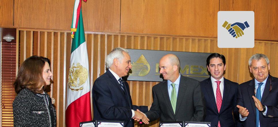 Fundación UNAM y Pemex firman convenio