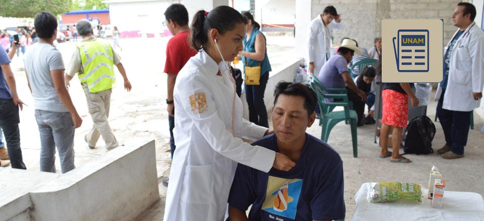 UNAM diversifica sus brigadas de ayuda y asistencia tras el sismo