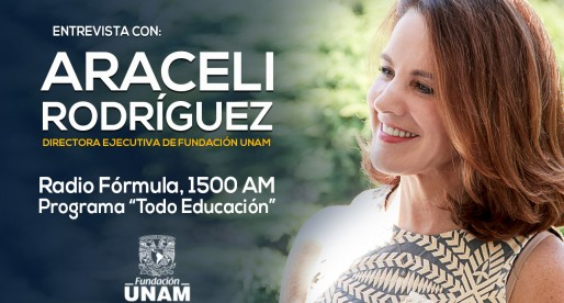 Entrevista a la Lic. Araceli Rodríguez en Radio Fórmula