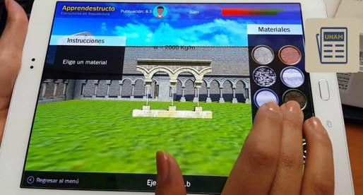 UNAM utiliza realidad virtual en la enseñanza de la arquitectura