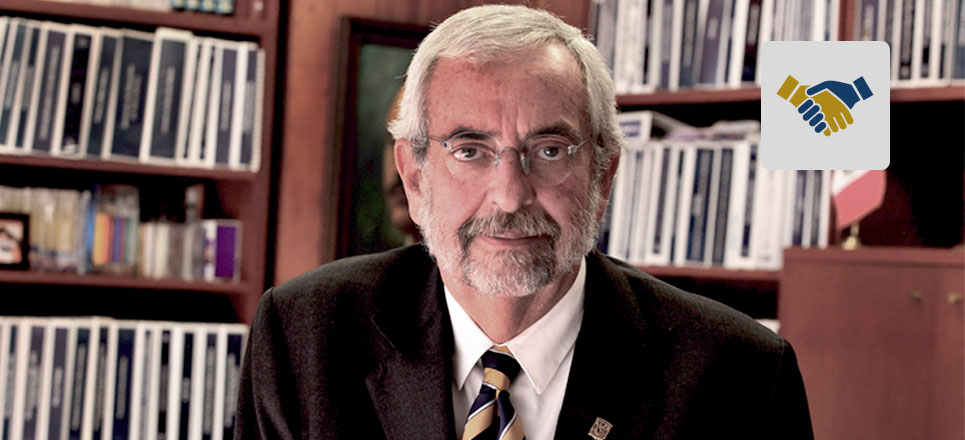 En medio del dolor, necesitamos seguir adelante: Rector Enrique Graue