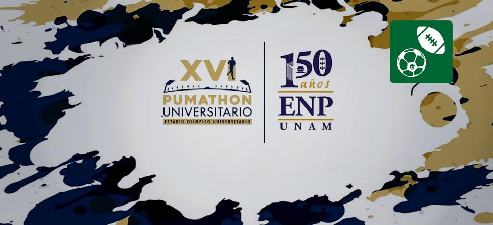 Pumathon universitario celebra los 150 años de la ENP