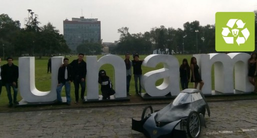 Auto eléctrico de la UNAM competirá en Shell Eco Marathon