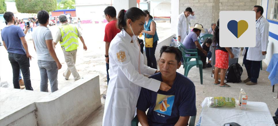 UNAM ofrece más de 600 consultas a afectados por sismos en Oaxaca