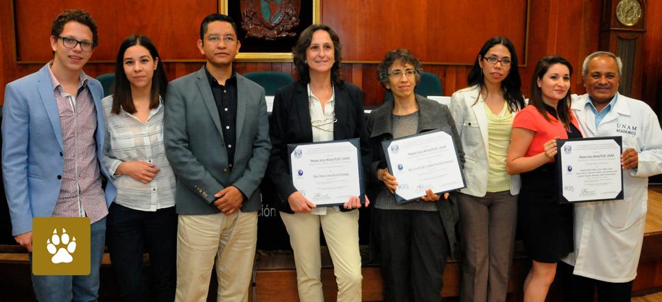 Obtienen académicos de la UNAM premio Aida Weiss Puis-UNAM