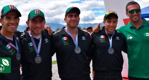 Universitarios obtiene cinco medallas en Panamericano de Canotaje