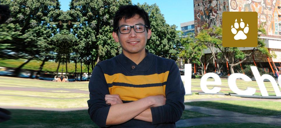 Estudiante de la UNAM gana Premio Nacional de la Juventud