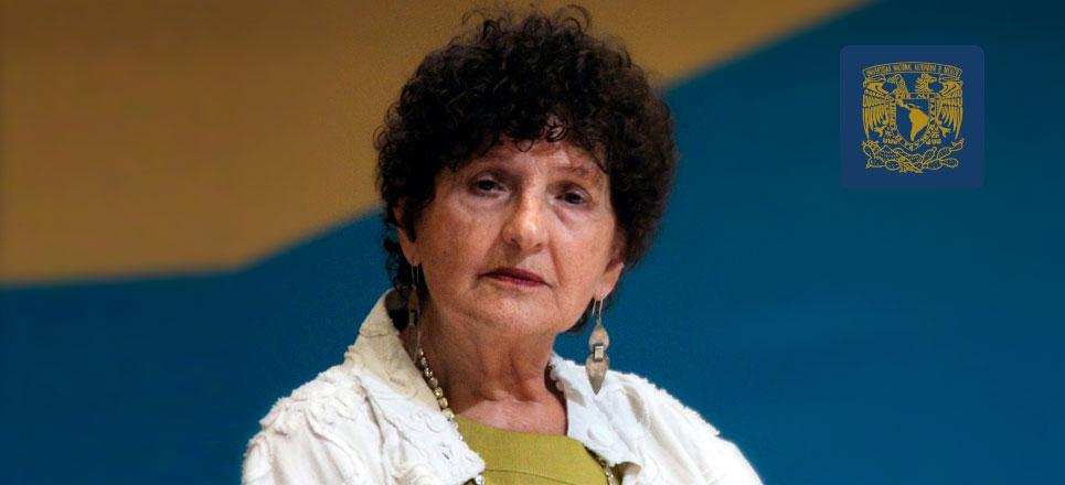 Margo Glantz, académica de la UNAM inspirada en el erotismo y la sexualidad