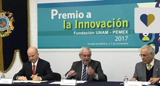 Otorgan Premio a la Innovación FUNAM-PEMEX 2017