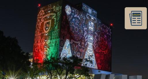 CU celebra con luces 10 años de ser Patrimonio Mundial