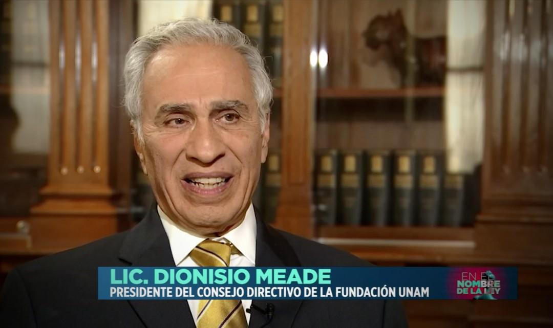Entrevista al Lic. Dionisio Meade en Excélsior TV