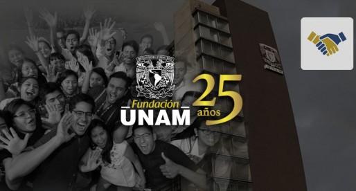 Gracias a ti, la Fundación UNAM cumple 25 años