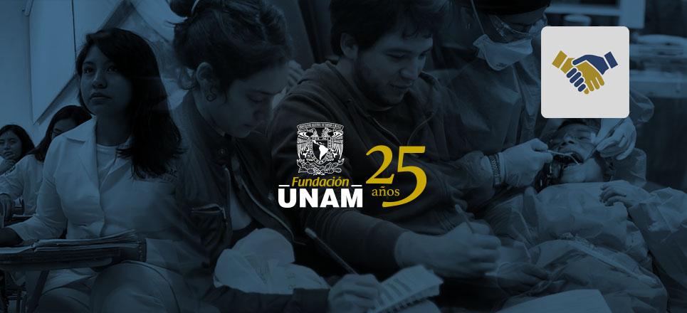 Fundación UNAM, 25 años haciendo posible lo imposible