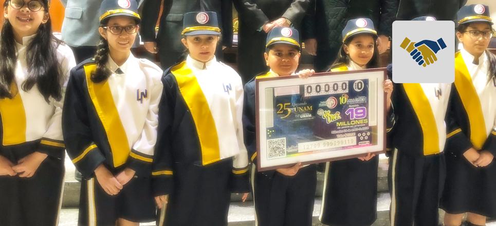 FUNAM y Lotería Nacional realizan sorteo conmemorativo