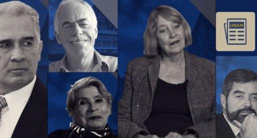 UNAM tiene nuevos profesores e investigadores eméritos