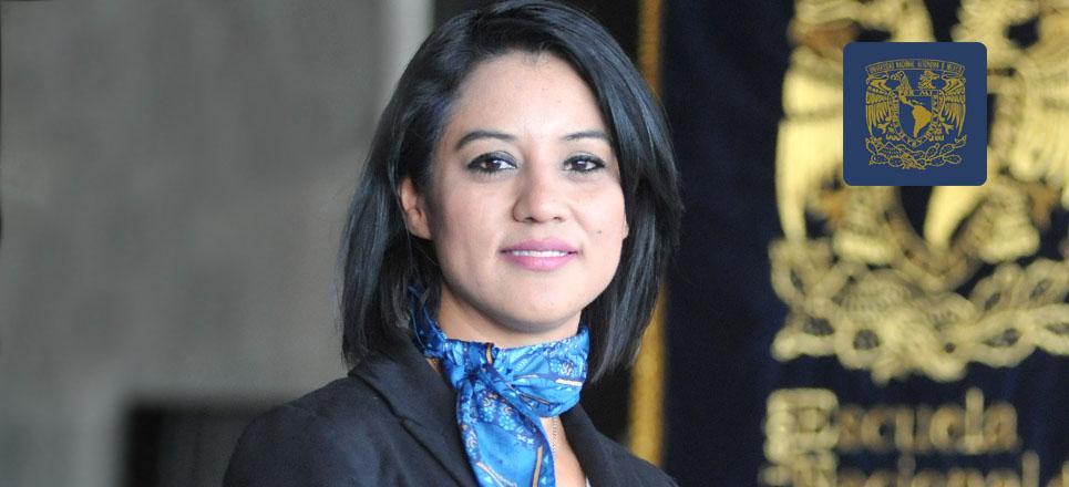 Laura Acosta, actual directora de la ENES León
