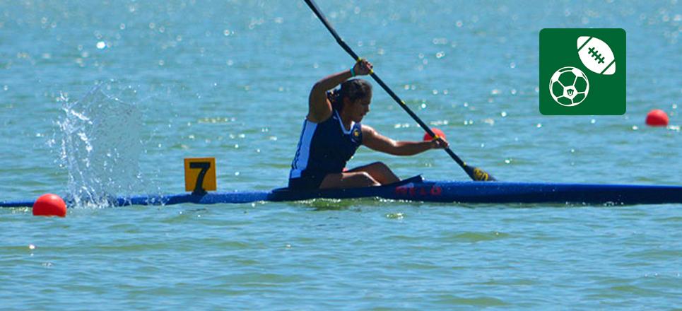 Logra UNAM tres medallas en campeonato nacional de distancia larga de canotaje