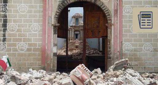UNAM colabora en el rescate de murales dañados por los sismos