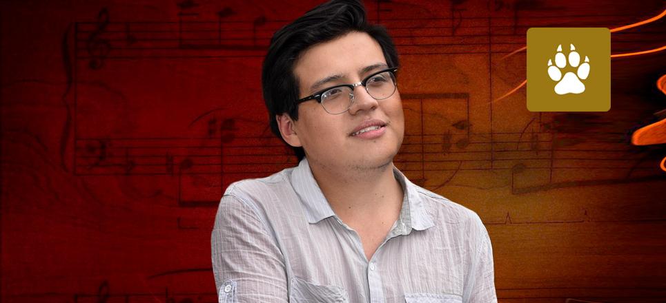 Universitario gana concurso de composición para Orquesta de Cámara