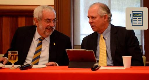 Signan acuerdo UNAM y Universidad de Arizona doble titulación para Maestría en Ingeniería Ambiental