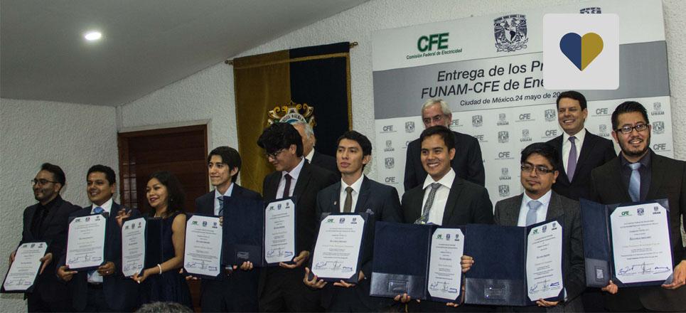 Conoce los Premios que la FUNAM ha otorgado a jóvenes universitarios