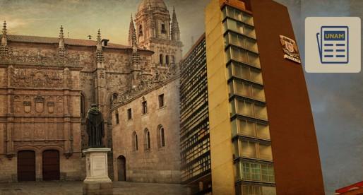UNAM y la Universidad de Salamanca establecen programa celebratorio de 500 años de relaciones